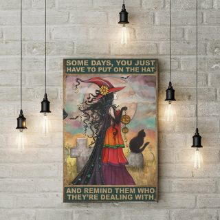 Remind Them Who They're Dealing With 0.75 & 1.5 In Framed Canvas -Home Living - Wall Decor, Canvas Wall Art