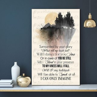 Will I Be Able To Speak At All I Can Not Image 0.75 & 1.5 In Framed Canvas - Gift Idea- Home Decor- Wall Art