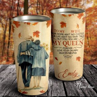 You Are My Beautiful Queen Forever Stainless Steel Tumbler- Travel Cup, Cup for Wife, Best Gift for Wife From Husband - Family Gifts Idea