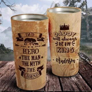The Man- The Myth- The Legend- Personalized Tumbler- Father's Day Gift, Dad Tumbler, Dad Cup, Best Dad Gift