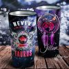 Never Underestimate Zodiac Personalized Tumbler - Astrology Sign Gift, Stainless Tumbler