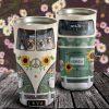 Personalized Bus Driver Dog Hippie Van Stainless Steel Tumbler - Travel Mug - Birthday Gift Ideas
