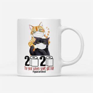Cats Masked 2020 - Cats Coffee Mug - Funny Cat Mug   Cat mug   Gifts for Cat Lovers   Cat Cup   Cat Lover Gift Mug