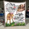 Cow- To My Mom You Are Appreciated Love You Blanket, Mom And Daughter, Cow Blanket, Home & Living