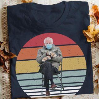 Bernie's Mittens Vintage Shirt, Bernie Sanders Inauguration Shirt, Bernie Sander In Cold Chair, Vintage Bernie Shirt, 2021 Inauguration, Sa