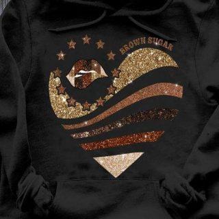 Melanin Afro Girl Shirt, Brown Sugar Blink Heart Shirt, Black Is Dope Shirt, Gift For Her